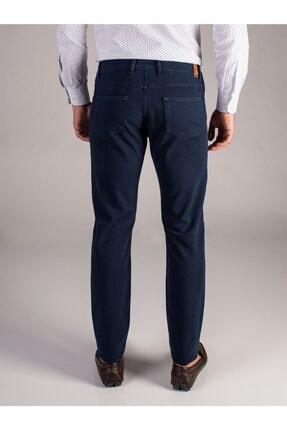 Dufy Lacivert Melanj Erkek Pantolon - Slım Fıt 2
