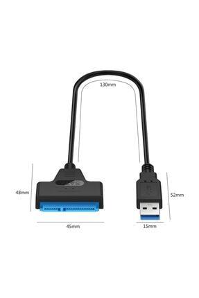 Alfais 4469 Usb 3.0 Yüksek Hızlı 2.5 Inç Sata Ssd Ve Hdd Harddisk Kablosu 4