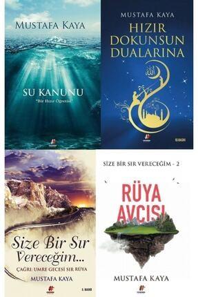 Fenomen Kitap Mustafa Kaya Kitap Seti (su Kanunu, Hızır Dokunsun Dualarına, Size Bir Sır Vereceğim, Rüya Avcısı) 0