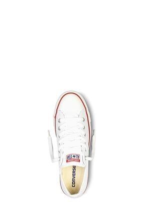 Converse Unisex Beyaz Chuck Taylor Allstar Sneaker  M7652c 4
