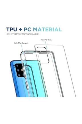 Cimricik Galaxy A71 Uyumlu Şeffaf Gard Zırh Kılıf Kamera Korumalı Kılıf 1