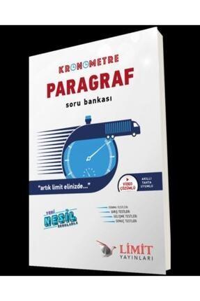 Limit Yayınları Limit Kronometre Paragraf Soru Bankası 0