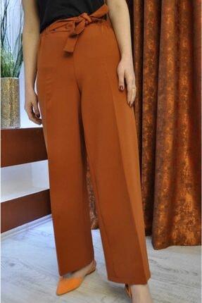 Kadın Kiremit Rengi Pantolon Krmt