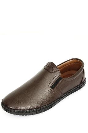 GÖNDERİ(R) Hakiki Deri Kahve Antik Erkek Günlük (Casual) Ayakkabı 01210 2