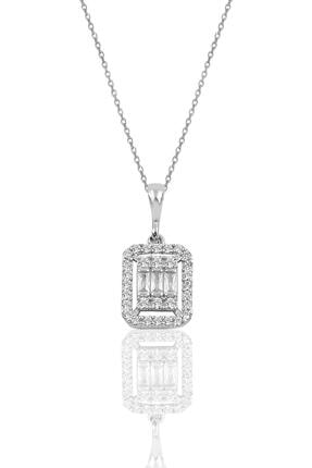 Söğütlü Silver Gümüş Rodyumlu Baget Taşlı Dörtlü Set 3