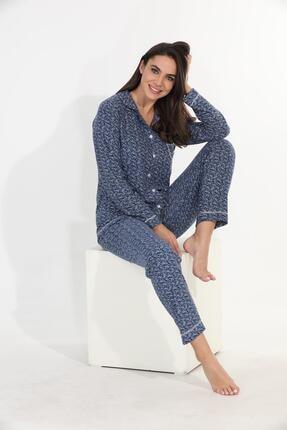 Etoile Ekstra Yumuşak Kumaş Pijama Takımı 98145 0