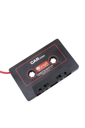 Streak Kablolu Araç Oto Teyp Kaset Adaptörü Mp3 Mp4 Cd Çalar Aux Player 3