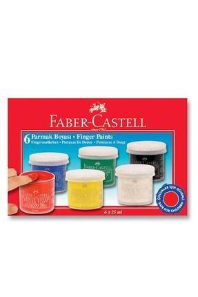 Faber Castell Parmak Boyası 6'lı 5 Ml 0