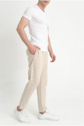 Efor Atp 09 Slim Fit Bej Spor Pantolon 1