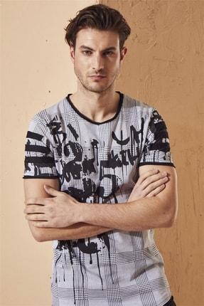 Efor Atş 011 Slim Fit Beyaz Spor T-shirt 0