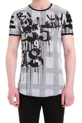 Efor Atş 011 Slim Fit Beyaz Spor T-shirt 1