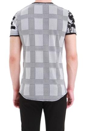 Efor Atş 011 Slim Fit Beyaz Spor T-shirt 3