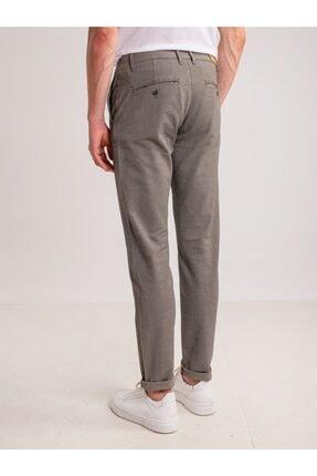Dufy Taş Armür Pamuk Likra Karışımlı Erkek Pantolon - Classic Fit 3