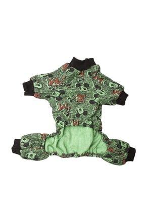 Paw Butik Yeşil Mickey Tulum 0