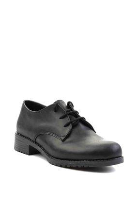 Bambi Siyah Kadın Oxford Ayakkabı M0626144209 2