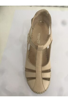 Ceyo 04 Bej Bayan Anatomik Ayakkabı 0