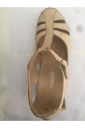 Ceyo 04 Bej Bayan Anatomik Ayakkabı 2