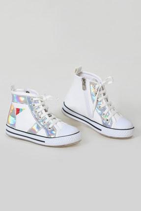 ZENOKIDO Unicorn Hologram Detaylı Kız Sneakers Ayakkabı 1
