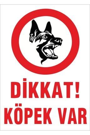 Yıldırım Dikkat Köpek Var Levhası 0