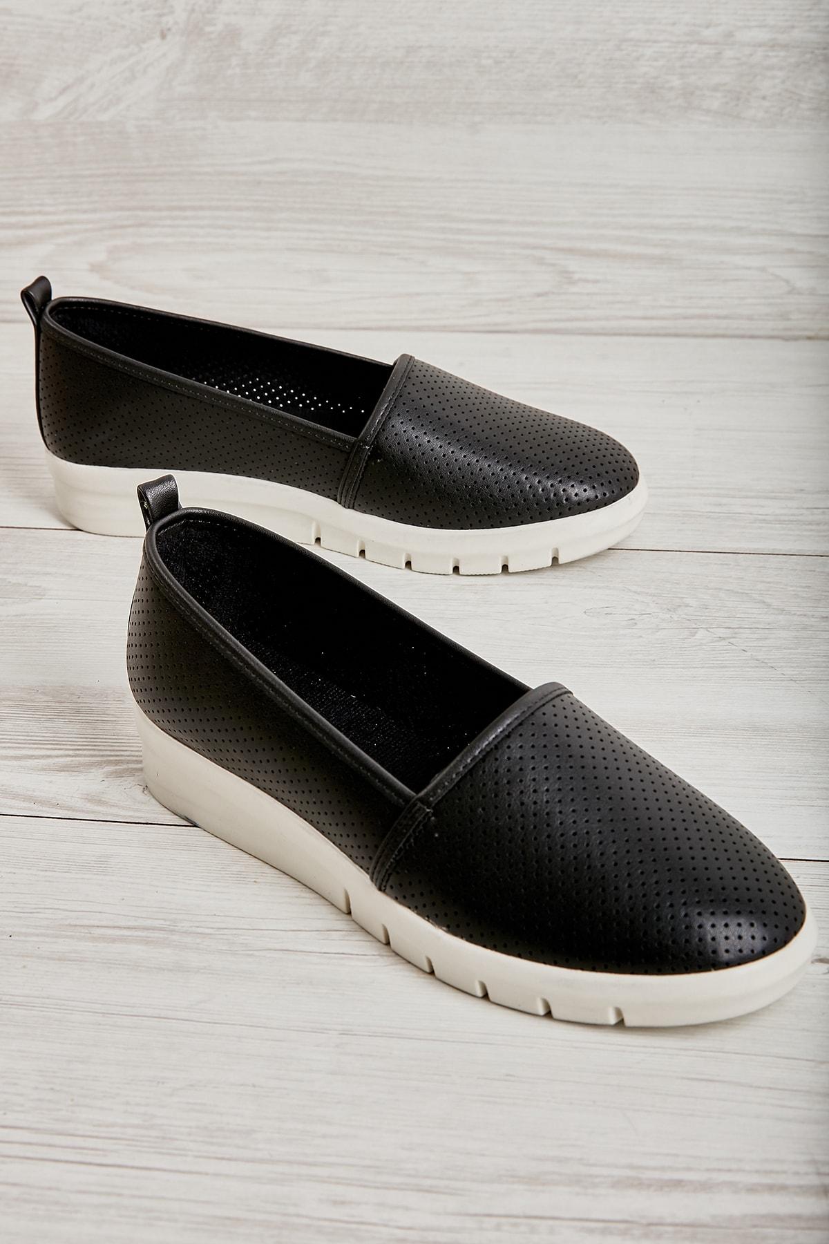 Siyah Kadın Casual Ayakkabı L0586038109