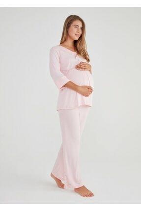 Suwen Lena Hamile Lohusa Pijama Takımı 2