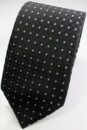 Siyah Desenli Erkek Kravat KR2609