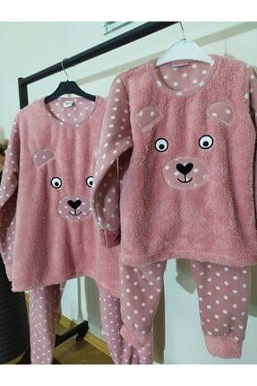 Irmak kids Anne Kız Polar Pijama Takım 1