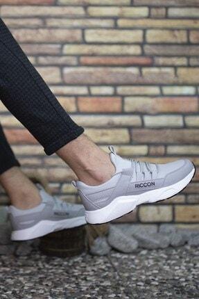 Riccon Erkek Gri Bağçıklı Sneaker 0012072 0