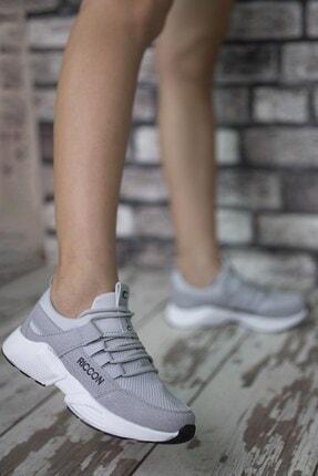 Riccon Erkek Gri Bağçıklı Sneaker 0012072 3