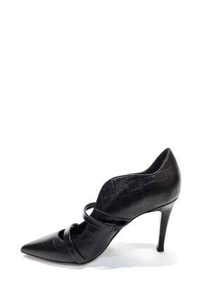 Poletto Hakiki Deri Klasik Topuklu Ayakkabı Plt19y-4924 21 2