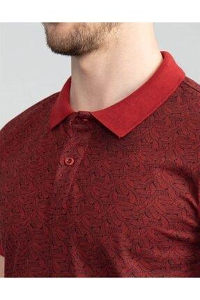 Tudors Polo Yaka Desenli Erkek T-shirt 3