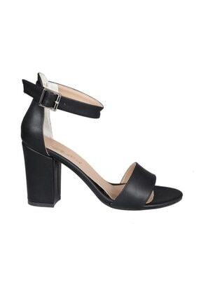 PUNTO 460062 Siyah Kadın Stiletto 0