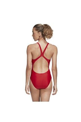 adidas Kadın Kırmızı Fıt Suıt 3s  Yüzücü Mayosu Fj4482 2