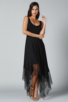 Quincey Eteği Asimetrik Elbise 0
