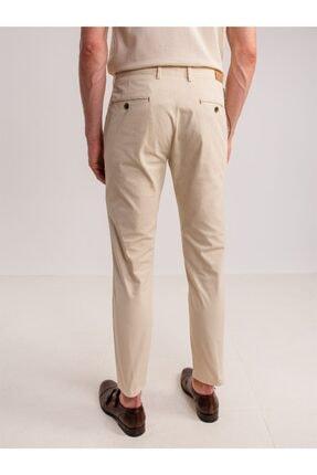 Dufy Taş Aksesuar Detaylı Armür Pamuklu Likra Erkek Pantolon - Modern Fit 2