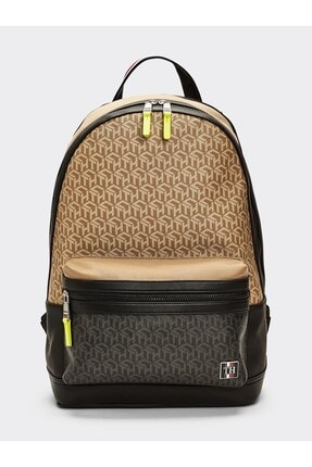 Tommy Hilfiger Coated Canvas Backpack 0