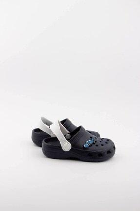 Akınalbella Unisex Çocuk Lacivert Sandalet Terlik 3