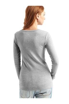 GAP Uzun Kollu Sıfır Yaka T-shirt 1