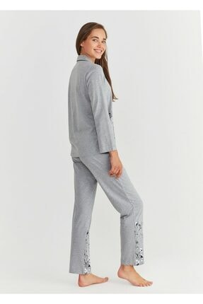 Suwen Pearl Maskulen Pijama Takımı 2