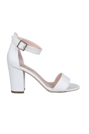 PUNTO 460062 Beyaz Kadın Stiletto 0