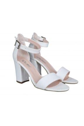 PUNTO 460062 Beyaz Kadın Stiletto 4