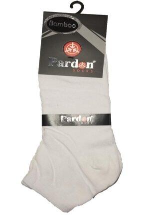 AKDEMİR 12 Çift Spor Bambu Çorap 12 Çift - Dikişsiz Çorap Karışık Renk 3