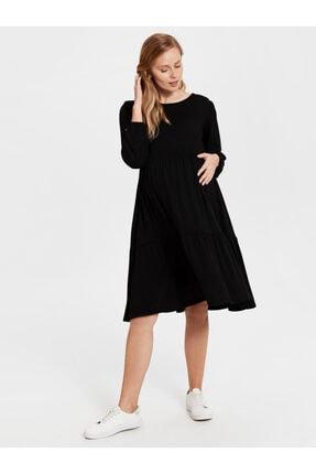 LC Waikiki Kadın Siyah  Elbise 2