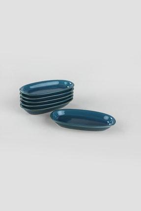 Keramika Safir Hitit Kayık Tabak 16 Cm 6 Adet 1