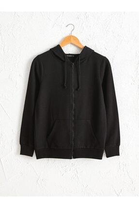LC Waikiki Kadın Siyah  Sweatshirt 0