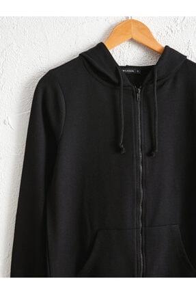 LC Waikiki Kadın Siyah  Sweatshirt 2
