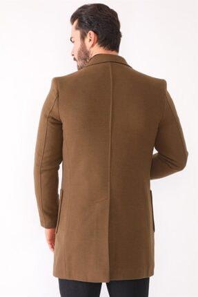 Dewberry Plt8384 Erkek Palto-camel 1
