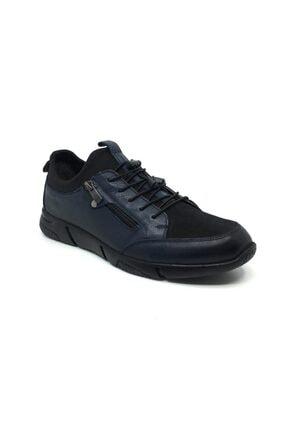 Taşpınar Salih %100 Deri Erkek Rahat Günlük Streçli Bağsız Mevsimlik Ayakkabı 0