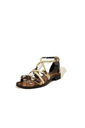 Nursace Hakiki Deri Sandalet Nsc19y-a08248 0