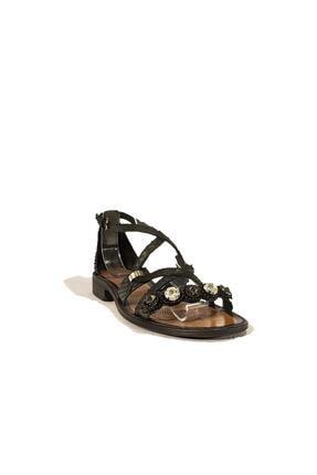 Nursace Hakiki Deri Sandalet Nsc19y-a08248 4